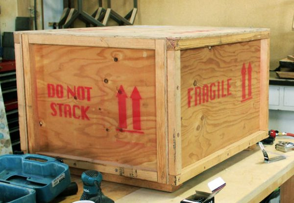 Example Of A Need To Ship Something Safely  How To Build A Custom Crate Medium