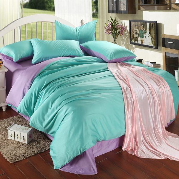 Example Of A Online Buy Wholesale Purple Turquoise Bedding From China Medium