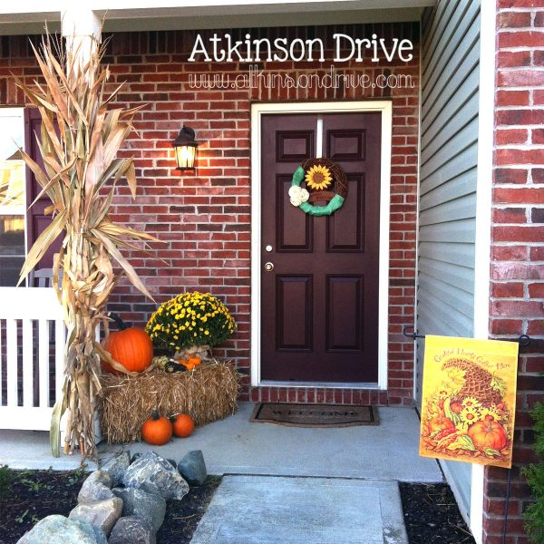 Example Of A Outdoor Fall Decoratkinson Drive Medium