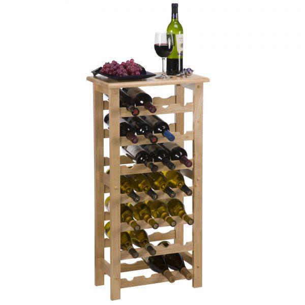 Example Of A Palermo 28bottle Floor Standing Wine Rack Wine Racks At Medium