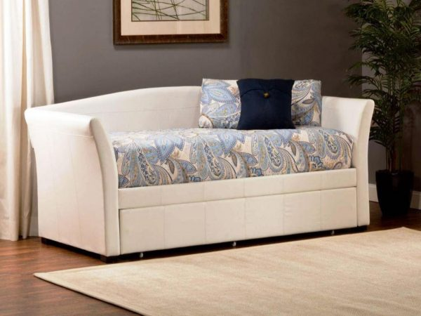 Example Of A Perky Pop Up Trundle Tufted Daybed Twin Bed Ikea Adult Medium