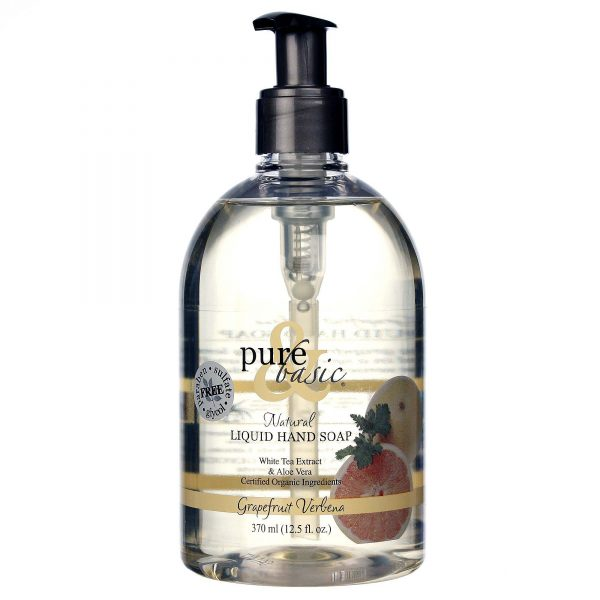 Example Of A Pure And Basic Liquid Hand Soap Grapefruit Verbena 125 Medium
