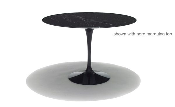 Example Of A Saarinen Dining Table Nero Marquina Marble Hivemoderncom Medium
