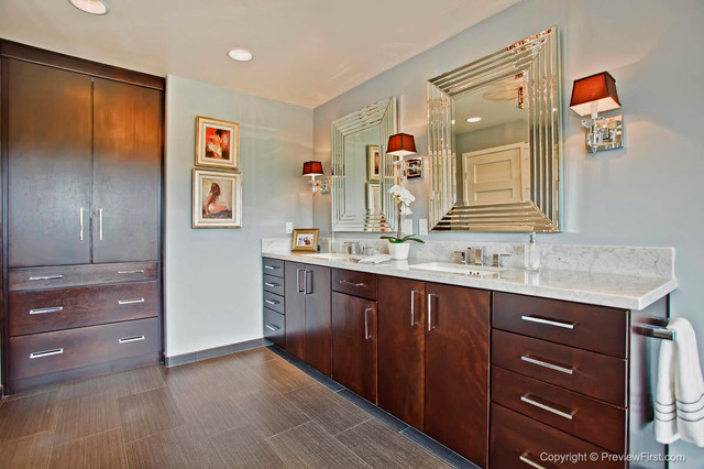example of a san diego bathroom vanity