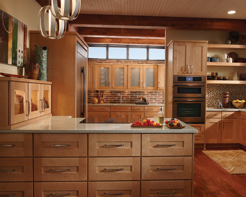 Example of a Schuler Cabinet Gallery Traditional Kitchen Chicago
