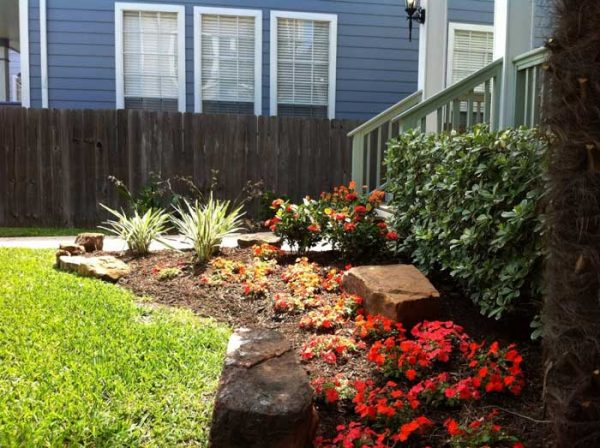 Example Of A Simple Landscaping Ideas For Creating Impressive And Cozy Medium