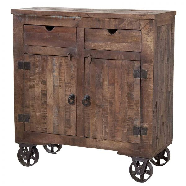 Example Of A Stein World Cordelia Wood Rolling Kitchen Cart Kitchen Medium