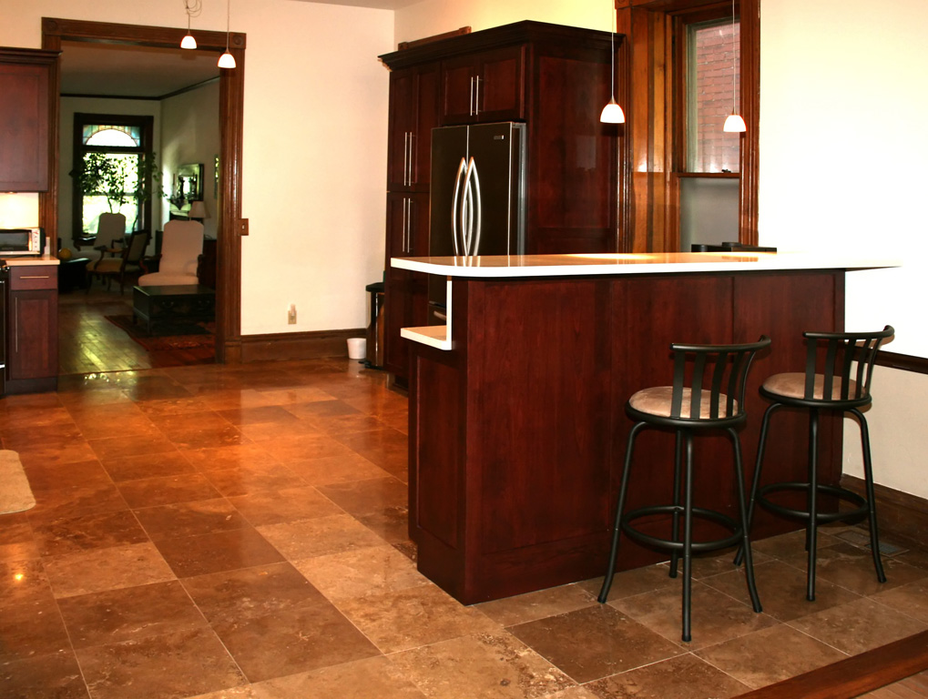 example of a the best nonslip tile types for kitchen floor tile