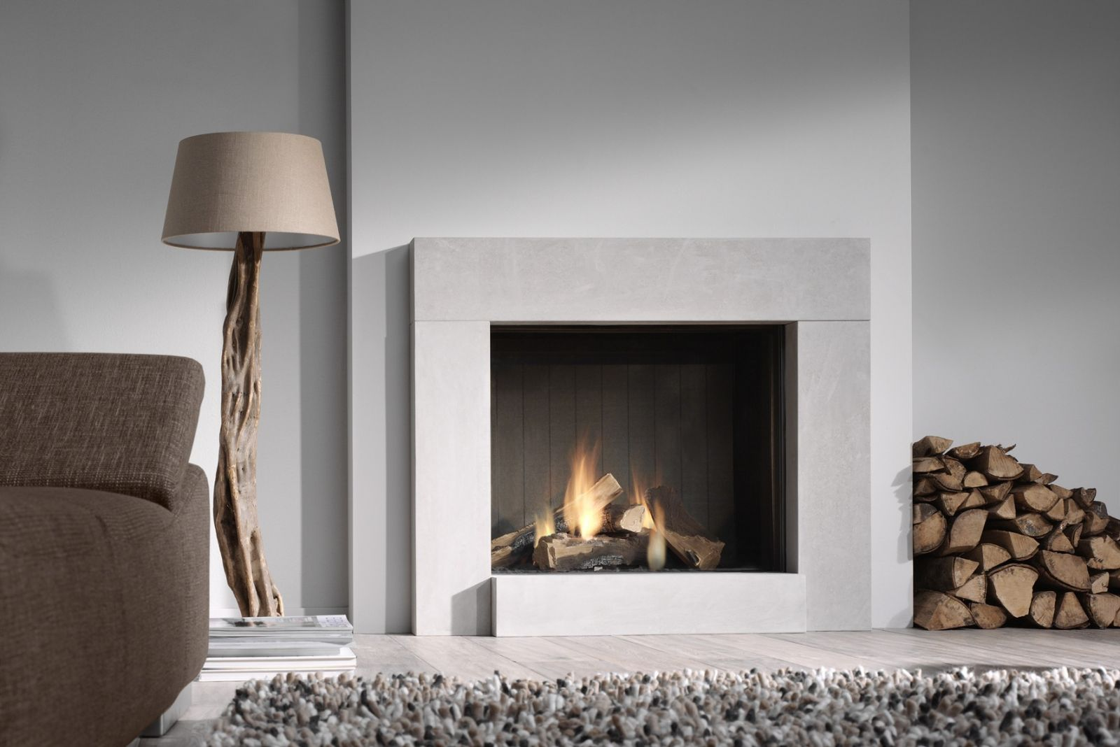 example of a top 15 trendy and modern fireplace designs