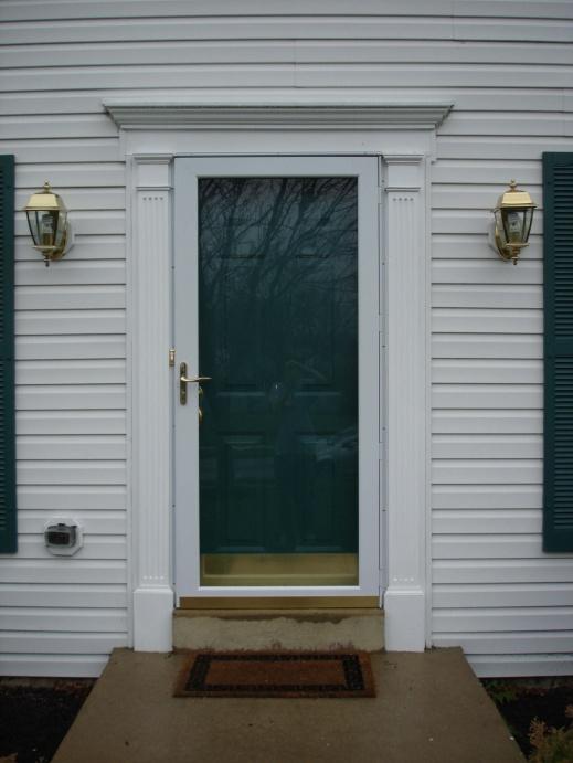 Example Of A Traditional Door Casing Styles Vs Contemporary Door Casing Medium