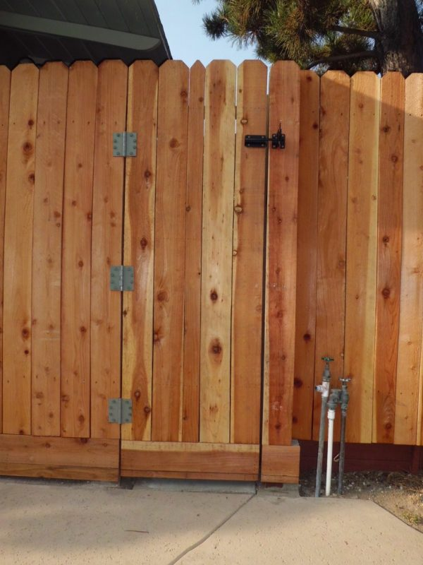 Example Of A Wooden Fence Gates Imageoutdoor Waco Wooden Fence Gates Medium