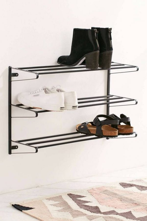 Explore 1000  Ideas About Wall Mounted Shoe Rack On Medium