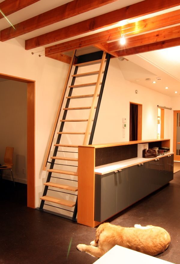 Explore 1000  Images About Loft Ladder Ideas On Cabin Medium