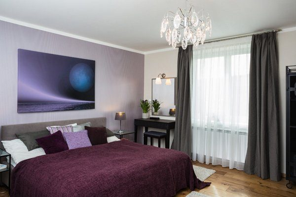 explore 15 stunning black white and purple bedroomshome design medium