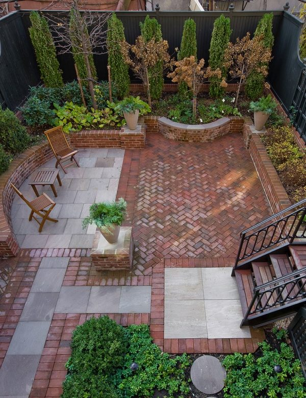 Explore 20 Charming Brick Patio Designs Medium