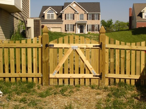 Explore 8 Tips To Build A Wood Fence Gatefrederick Fence Medium