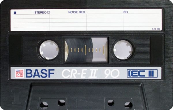 Explore A Gallery Of Vintage Blank Audio Cassette Tapes Medium