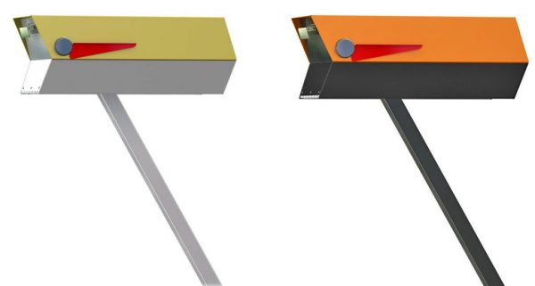 Explore And Heres The Mailbox To Complement Your Midcentury Medium
