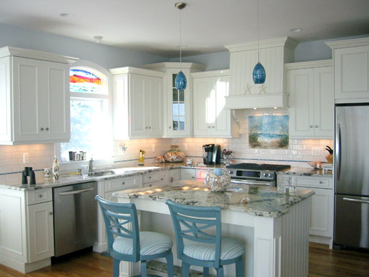 explore beach themed kitchen backsplash path to the beach