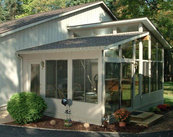 explore bobbs shed roof sunroom addition medium
