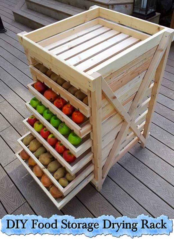 Explore Diy Food Storage Drying Rack Lil Moo Creations Medium