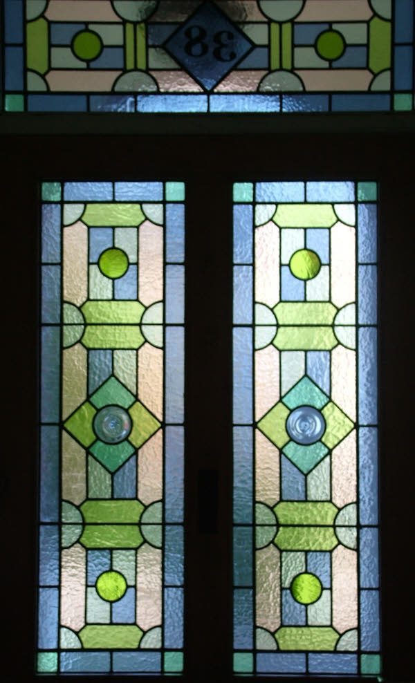 Explore Geometric Victorian Abinger Stained Glass Medium
