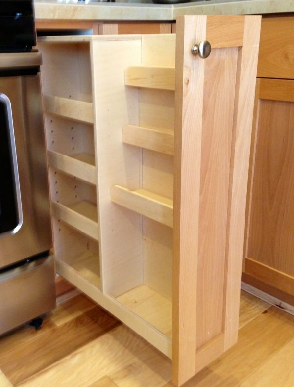 Explore Handmade Pull Out Spice Rack By Noble Brothers Custom Medium