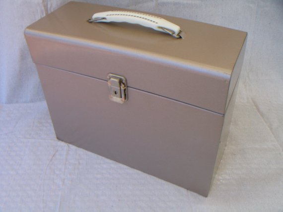 Explore Industrial Metal Filing Box With Key Metal Storage Box File Medium