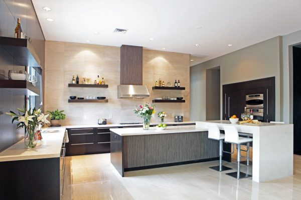 Explore Kitchen Floating Shelves Kitchen Contemporary With Medium