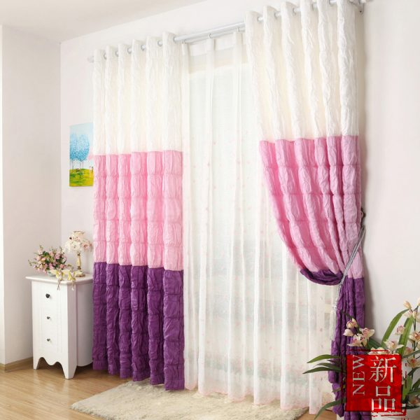 Explore Multicolor Chic Style Girls Bedroom Curtains Medium