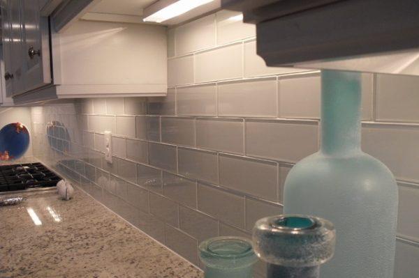 Explore Nocatee Glass Backsplash Beach Style Kitchen Medium
