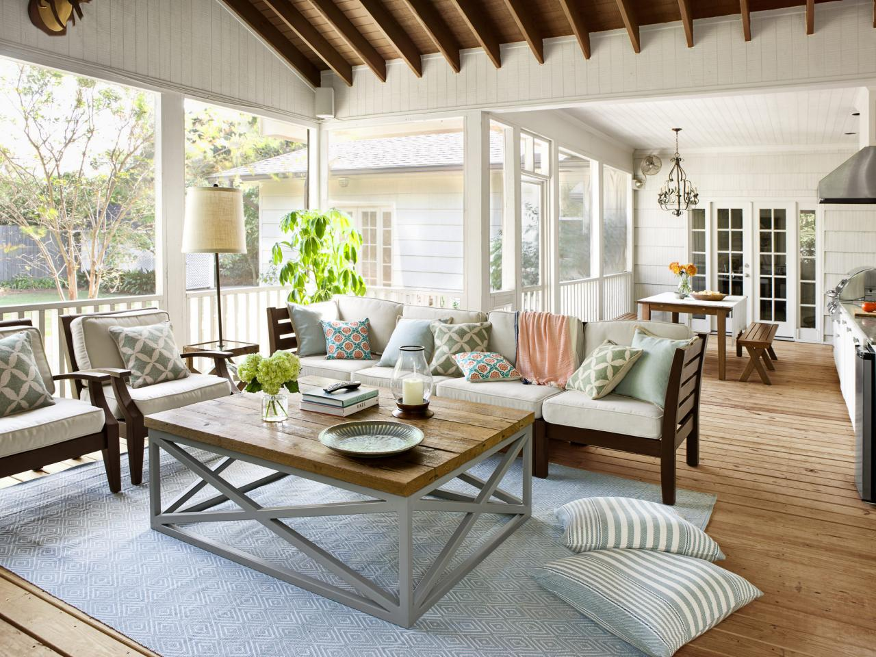explore outdoor kitchen and threeseason roomoutdoor spaces