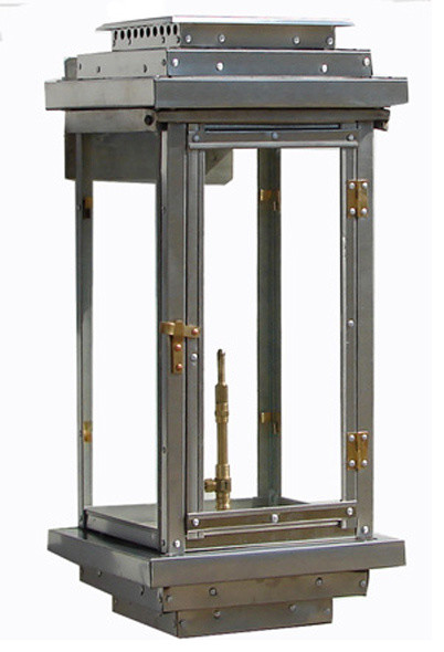 Explore Stainless Steel Contemporary Lantern 18 Industrial Medium