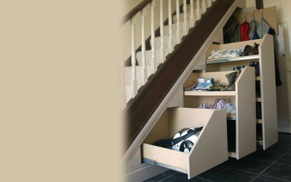 explore want under stair pull out storage shoe rack great idea medium