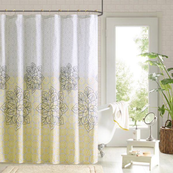 Fancy Shower Curtains With Valance For Tropical Bathroom Medium