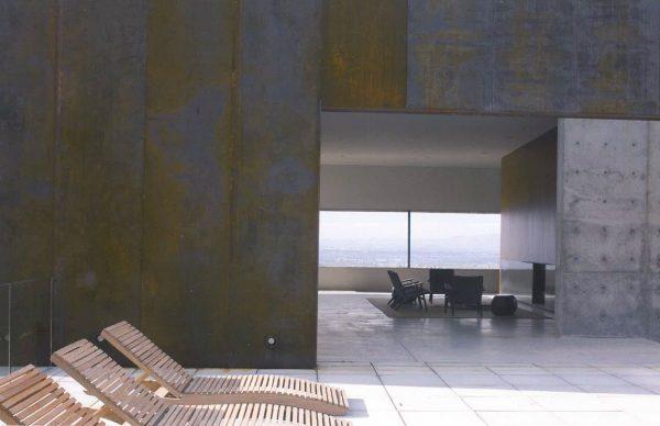 Fresh  4  Corten Steel Plate To Clad Parapet Wall At Terrace Medium
