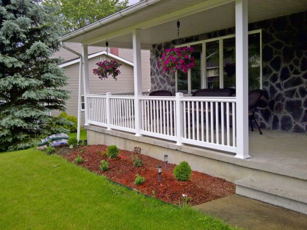 Fresh 9 Beautiful Designs Front Porch Railing Decorating Ideas Medium