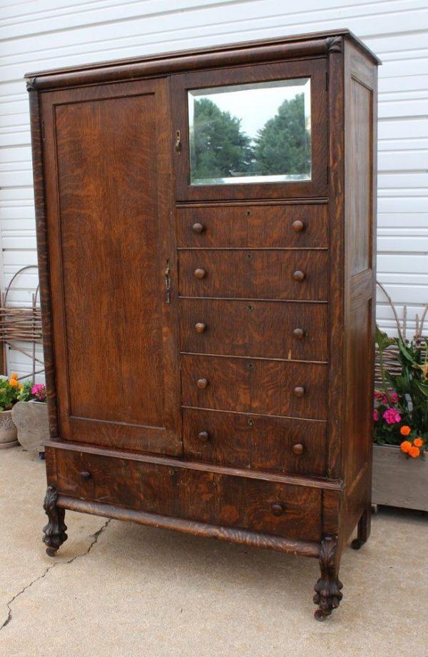 Fresh Antique Chifferobe Wardrobe Dresser Medium