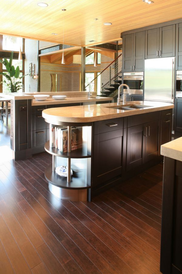 Fresh Bamboo Flooring Colors Kitchen Contemporary With Bamboo Medium