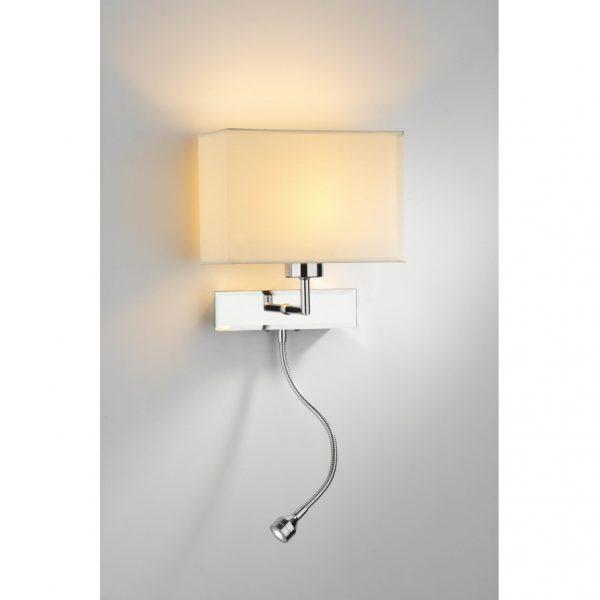 Fresh Bedroom Modern Bedside Wall Reading Lamp Using Drum Medium