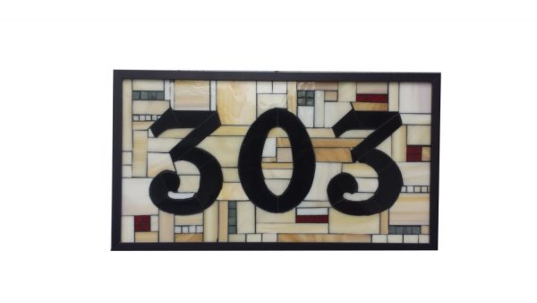 Fresh Custom House Numbers Stained Glass Mosaic By Sequentialglass Medium