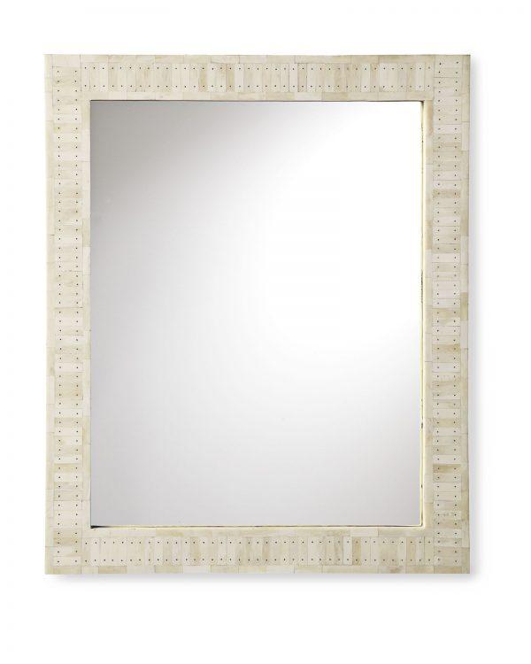 Fresh Cyprus Bone Inlay Mirror Serena   Lily Medium