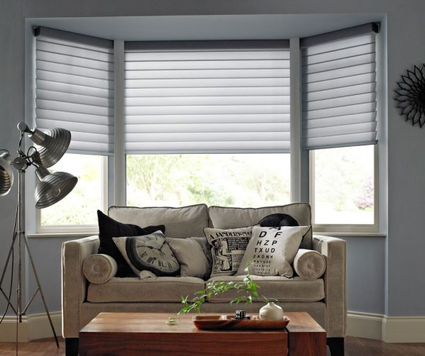 Fresh Different Classes Of Shades For Bay Windows Theydesign Medium
