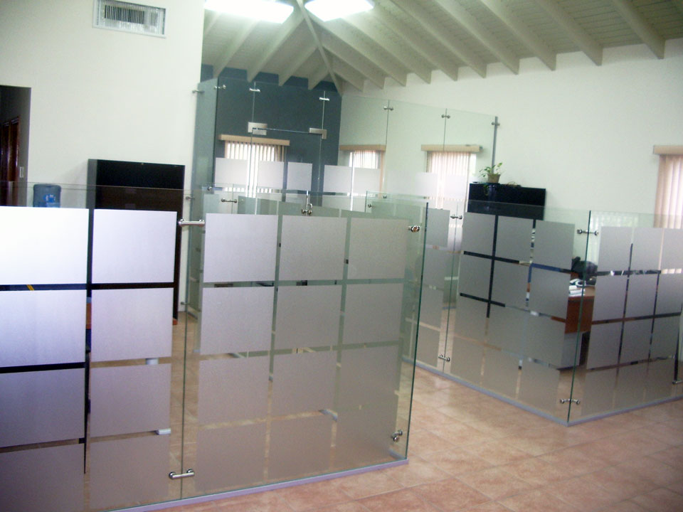 fresh elite free standing glass wall dividers