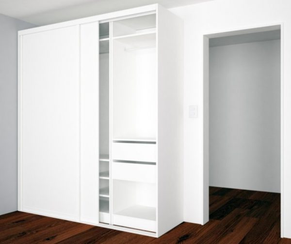Fresh Free Standing Closet With Doors Idea Medium