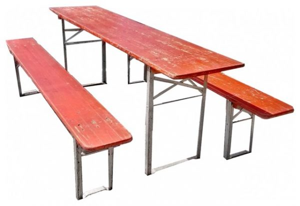 Fresh German Beer Garden Table Eclecticsidetablesandendtables Medium
