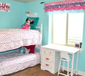 Fresh Hometalkhot Pink And Turquoise Girls Bedroom Makeover Medium