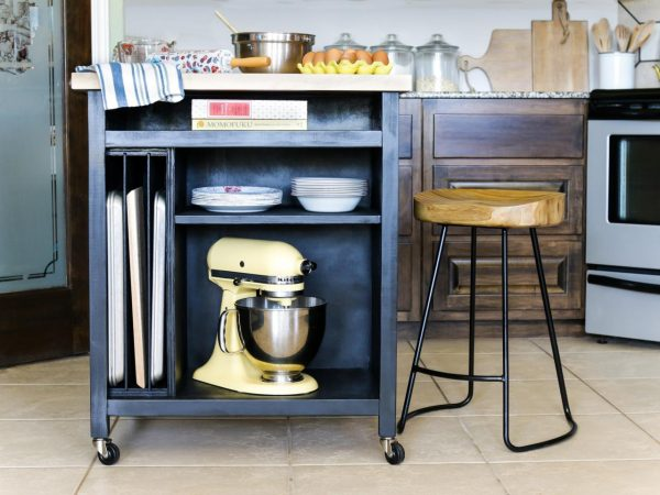 Fresh How To Build A Diy Kitchen Island On Wheelshgtv Medium
