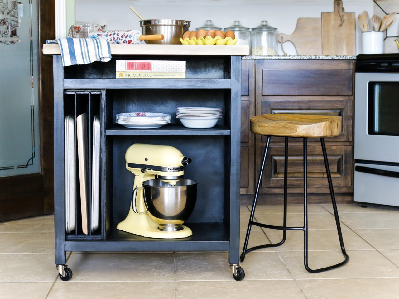 fresh how to build a diy kitchen island on wheelshgtv
