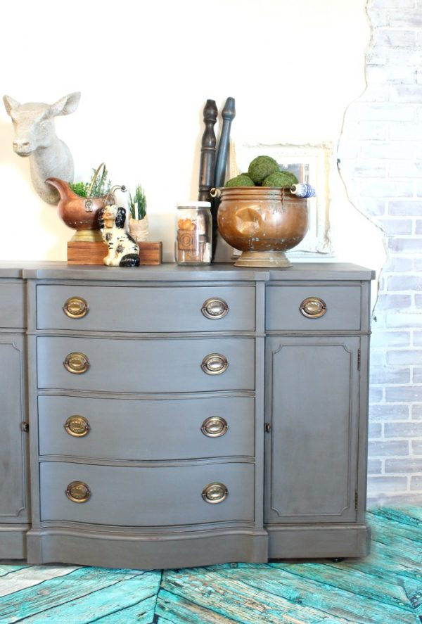 Fresh I Heart Gray Painted Furniture Refunk My Junk Medium